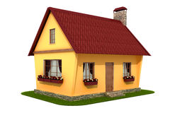 Model village house Royalty Free Stock Images