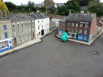 Model village miniature houses Royalty Free Stock Photos