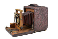 Model  of vintage camera Royalty Free Stock Images
