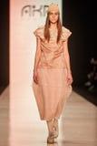 A model walks on the AKA NANITA catwalk Royalty Free Stock Images