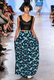 Model walks Alexandra Frida runway at the FTL Moda Spring 2016 Stock Photography