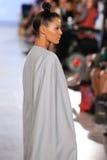 Model walks Anna's Loud runway at the FTL Moda Spring 2016 Royalty Free Stock Photo