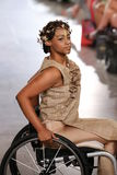 Model walks Archana Korchhar runway at the FTL Moda Spring 2016 Stock Images