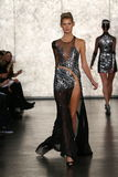 A model walks at Inbal Dror Bridal Fall Winter 2016 Runway Show Stock Images