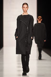 A model walks on the Lena Tsokalenko catwalk Stock Photography