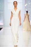 A model walks on the NATALIA GART catwalk Stock Image