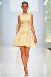 A model walks on the NATALIA GART catwalk Stock Photos