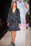 A model walks on the OFERA by Oksana Fedorova catwalk Stock Photos