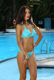 A model walks at the Profile and Blush Gottex presentation during MBFW Swim 2015 Stock Photos