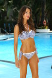 A model walks at the Profile and Blush Gottex presentation during MBFW Swim 2015 Stock Photography