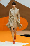 A model walks the runway during the Aalto designed by Tuomas Merikoski show Stock Photo