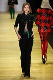 A model walks the runway during the Barbara Bui show Stock Photography