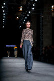 A model walks the runway for the Escorpion collection Royalty Free Stock Photography