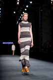 A model walks the runway for the Escorpion collection Stock Images