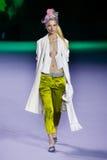A model walks the runway during the Haider Ackermann show Stock Photos