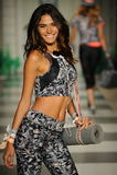 Model walks the runway during Maaji Spring Summer 2017 Runway Show Stock Photography