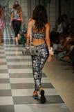 Model walks the runway during Maaji Spring Summer 2017 Runway Show Stock Image