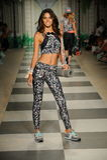 Model walks the runway during Maaji Spring Summer 2017 Runway Show Royalty Free Stock Photography
