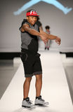 A model walks the runway at the Nike Levi's Kids fashion show during Mercedes-Benz Fashion Week Fall 2015 Stock Photo
