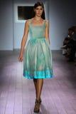 A model walks the runway at Raul Penaranda fashion show Stock Photos