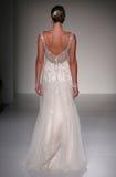 A model walks runway at Sottero and Midgley fashion show during Fall 2015 Bridal Collection Royalty Free Stock Photo