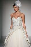A model walks runway at Sottero and Midgley fashion show during Fall 2015 Bridal Collection Stock Photo