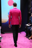 A model walks the runway at the Stephen F fashion show Stock Photo