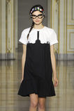 A model walks the runway during the Vivetta fashion show Stock Photos