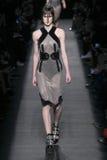 A model walks the runway wearing Alexander Wang during MBFW Royalty Free Stock Photo