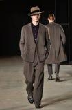 A model walks the runway wearing Robert Geller Royalty Free Stock Image