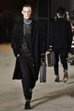 A model walks the runway wearing Robert Geller Royalty Free Stock Photos