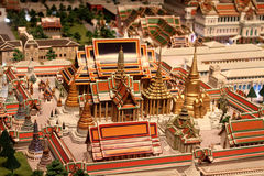Wata Phra Kaew model Obrazy Royalty Free