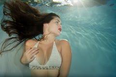 Model wearing crochet bikini. Stock Photography