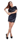 Model wearing dress Stock Image