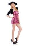 Model wearing fashionable clothing Royalty Free Stock Image
