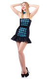 Model wearing fashionable clothing Royalty Free Stock Photography