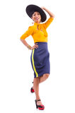 Model wearing fashionable clothing Royalty Free Stock Photo