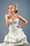 Model in a wedding dressd Stock Photography