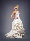 Model in a wedding dressd Royalty Free Stock Photography
