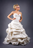 Model in a wedding dressd Stock Images