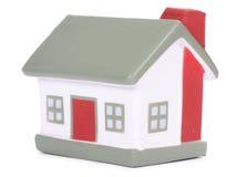 model white för houseon Arkivbild