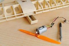 Model workshop Stock Image