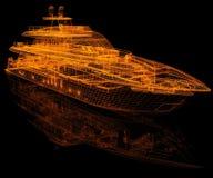 model yachten stock illustrationer