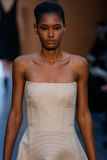 Model Ysaunny Brito walk the runway at the Derek Lam Fashion Show during MBFW Fall 2015 Stock Image