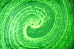 Modela a camada abstrata de textura verde colorida da pintura para o fundo imagem de stock