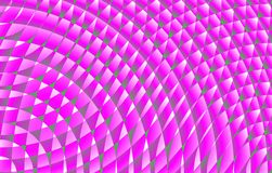 Modela espirais do rosa quente imagens de stock