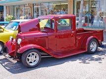 Modela pickup truck Royalty-vrije Stock Foto
