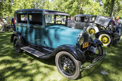 Modela tudor klassieke auto van Ford 1929 Stock Afbeelding