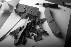 Modelado de la plastilina Foto de archivo