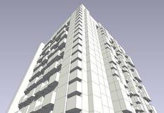 Modelado para el edificio libre illustration